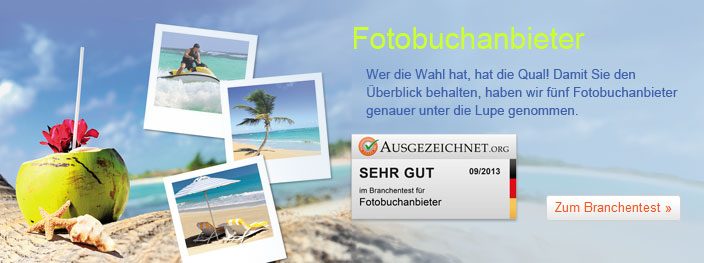 Fotobuchanbieter im Test