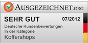 Gut in der Kategorie Koffershops