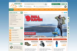 outdoortrends.de Screenshot