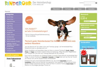 rinderohr.de Screenshot